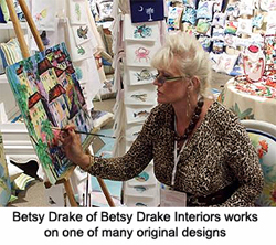 Betsy Drake Interiors Is An Exclusive Line Of Home Decor Featuring The  Original Art And Designs Of North Carolina Artists Betsy Drake And R. B.  Hamilton. Photo Gallery